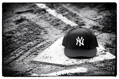 Baseball Art Photograph - Yankee Home by John Rizzuto