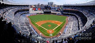 New York Stadium 1 Print by Bob Stone
