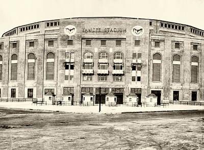 Yankee Stadium Photograph - Yankee Stadium by Bill Cannon