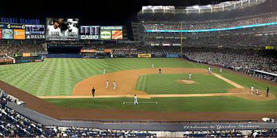 Derek Jeter Digital Art - Yankee Stadium by Jack Wachsstock