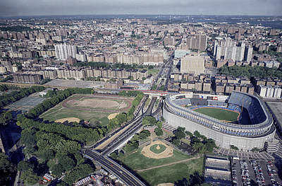 New York Baseball Parks Photograph - Yankee Stadium by Mountain Dreams