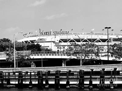Yankee Stadium Print by Robert Yaeger