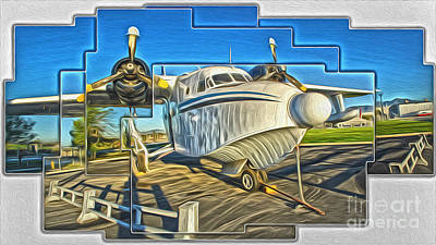 Yanks Air Museum Print by Gregory Dyer