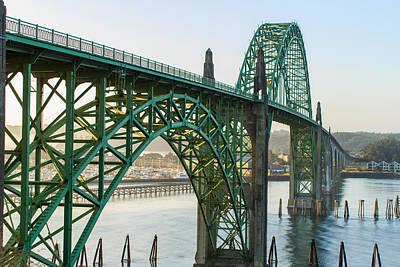 Photograph - Yaquina Bay Bridge 2 by C Steele
