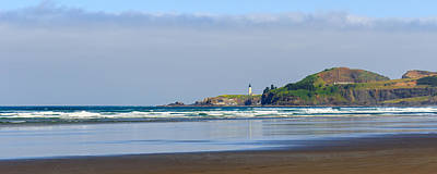 Photograph - Yaquina Head Lighthouse  by C Steele