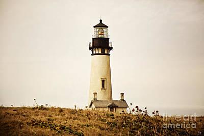 Yaquina Head Lighthouse Photograph - Yaquina Head Lighthouse by Scott Pellegrin
