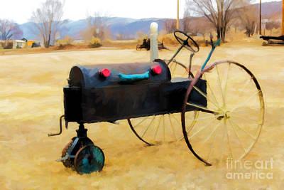 Yard Art Print by Jon Burch Photography