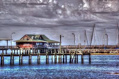 Yardarms On The Pier  Original by Michael Thomas