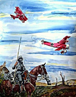 War Horse  2015 Original by Ken Higgins