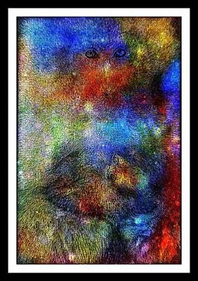 Year Of The Monkey Print by Wendie Busig-Kohn