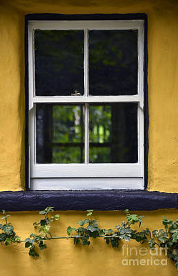 Doubts Digital Art - Yellow Barn Window by Svetlana Sewell