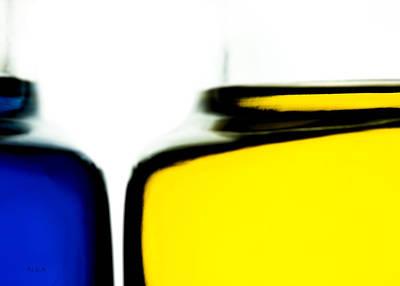 Will Photograph - Yellow Blue by Bob Orsillo