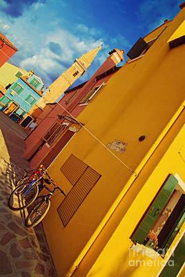 Yellow Mellow Print by Danilo Piccioni