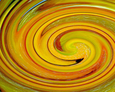 Bellpeppers Photograph - Yellow Pepper Swirl by Tikvah's Hope