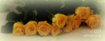 Yellow Roses Print by Lainie Wrightson