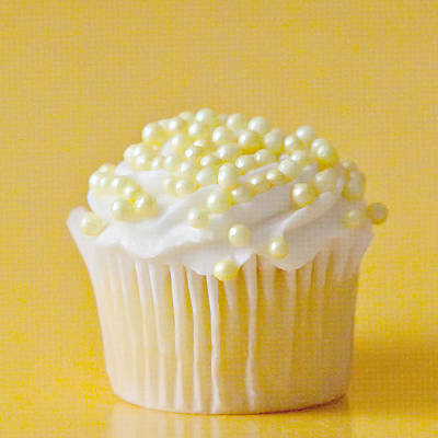 Yellow Sprinkles Print by Art Block Collections