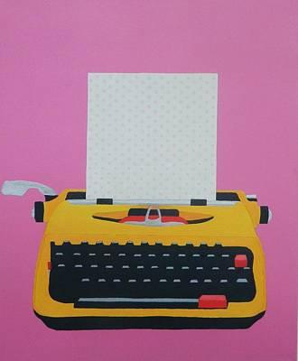 Electric Typewriter Original by Ken Pursley