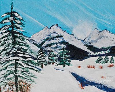 Yellowstone Dream Print by Lloyd Alexander