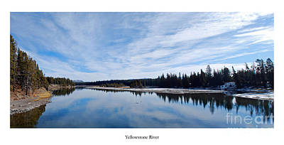 Yellowstone Photograph - Yellowstone River by Twenty Two North Photography