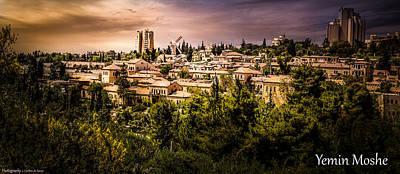 Jerusalem Photograph - Yemen Moshe by Carlton De Souza