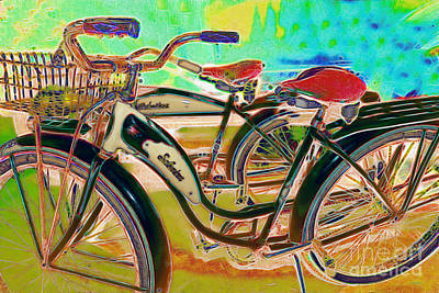 Transportation Digital Art - Yesterday It Seemed Life Was So Wonderful 5d25760 M168 by Wingsdomain Art and Photography