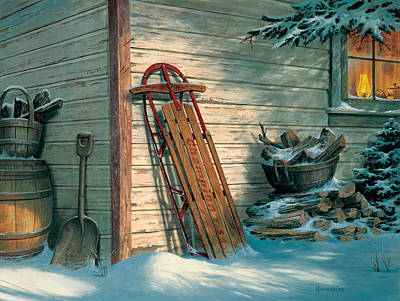 Antiques Painting - Yesterday's Champioin by Michael Humphries