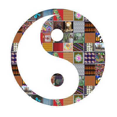 Yinyang Yin Yang Showcasing Navinjoshi Gallery Art Icons Buy Faa Products Or Download For Self Print Print by Navin Joshi