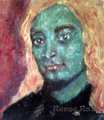 Yogananda Painting - Yogananda As Krishna by Renee Rain
