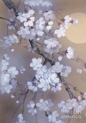 Tree Blossoms Digital Art - Yoi Crop by Haruyo Morita