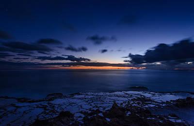 Haleiwa Photograph - Yokohama Beach Sunset In Honolulu Hawaii by Tin Lung Chao