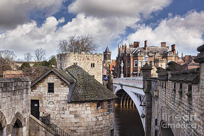 Rooftops Photograph - York by Colin and Linda McKie
