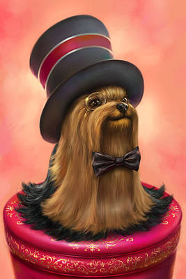 York The Gentledog Print by Eldar Zakirov