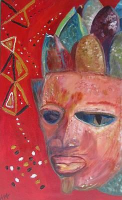 Yoruba Painting - Yoruba1 by Elza Queen