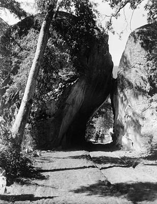 Yosemite National Park Painting - Yosemite Arch Rock, C1913 by Granger