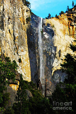 Yosemite Falls Print by Laraine  C Photography