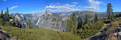Yosemite Panorama Print by Paul Van Baardwijk