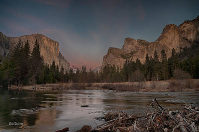 Yosemite Sunset Print by Bill Roberts