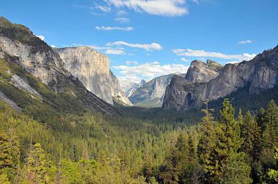 Yosemite Valley Print by Paul Van Baardwijk
