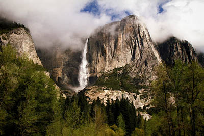 High Sierra Photograph - Yosemite Valley View by Donna Kennedy