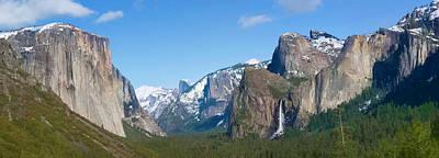 Yosemite Valley Visualized Print by Gregory Scott