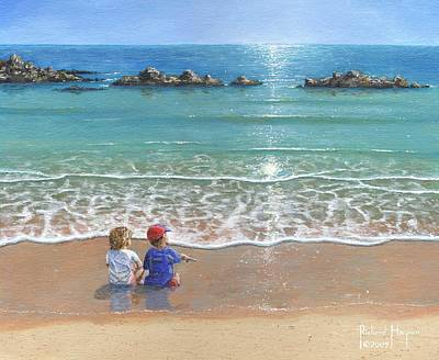 Realist Painting - You And Me by Richard Harpum