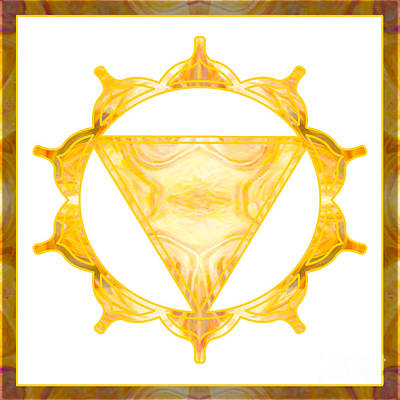 Manipura Digital Art - You Are My Sunshine Abstract Chakra Art By Omaste Witkowski  by Omaste Witkowski