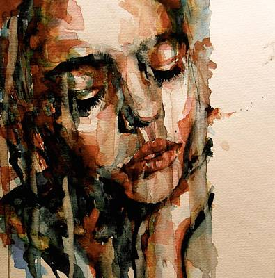 Heart Images Painting - You Ditch It All To Stay Alive A Thousand Kisses Deep by Paul Lovering
