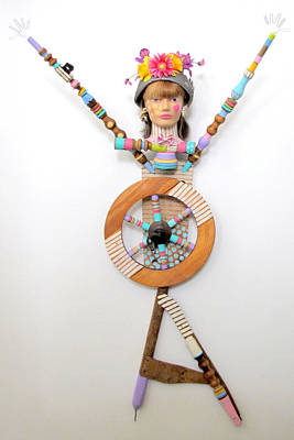 You Got Me Spinnin Print by Keri Joy Colestock