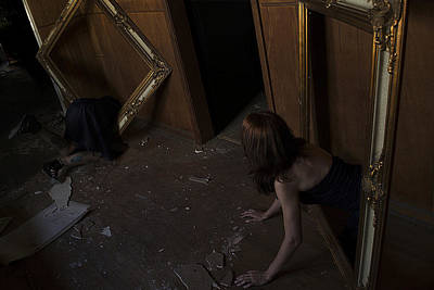 You Seem Lost Alice Original by Adam Cook