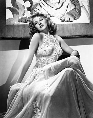 Hurrell Photograph - You Were Never Lovelier, Rita Hayworth by Everett