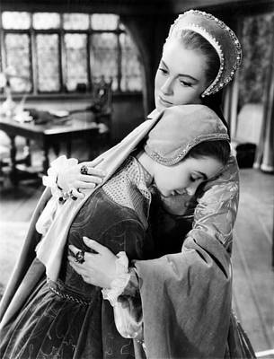 Young Bess, From Left, Jean Simmons Print by Everett