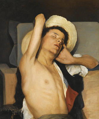 Georgio Painting - Young Boy by Georgios Jakovidis