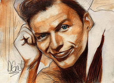 Young Frank Sinatra Original by Gregory DeGroat