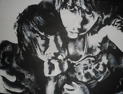 Young Lovers Print by Cherise Foster